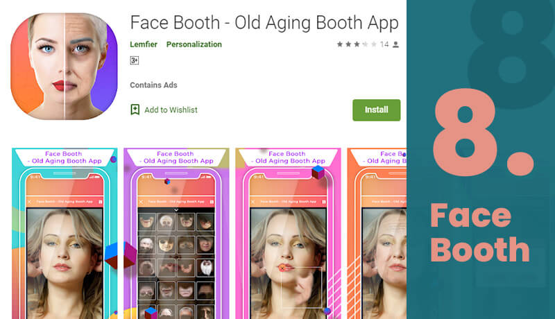 Face Booth Age Progression App For Android
