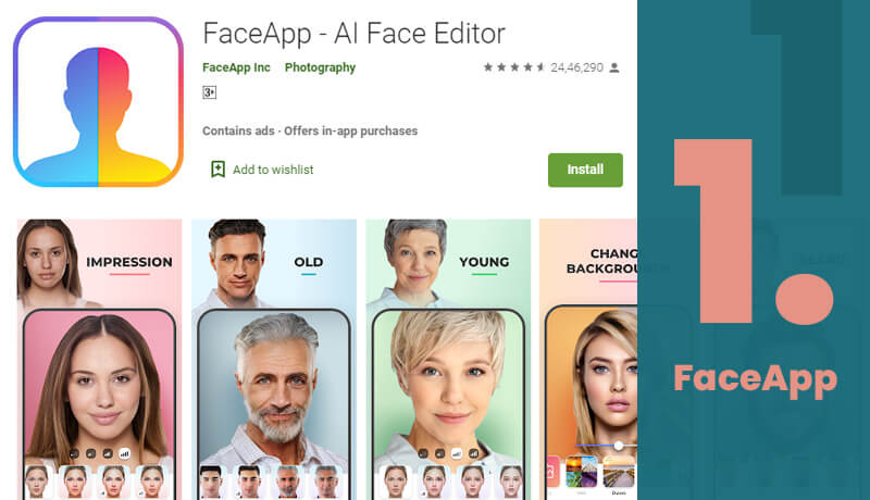 FaceApp Age Progression App For Android