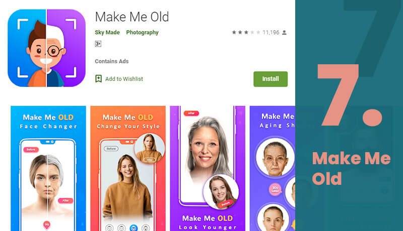 Make Me Old Age Progression Android App