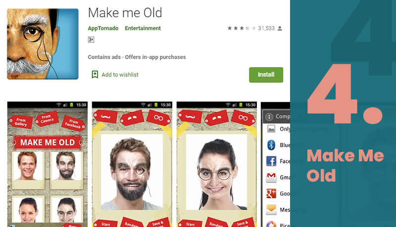 Make Me Old Age Progression App For Android