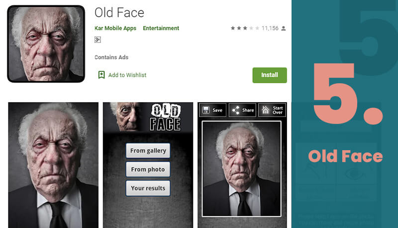 Old Face Age Progression App For Android