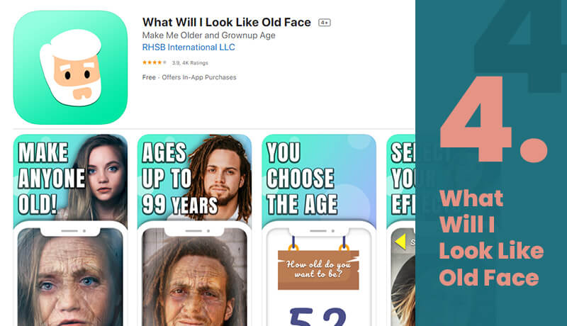 What Will I Look Like Old Face Free Aging Filter App For iOS